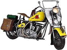 YANRUI - Statua per moto, modello in ferro,