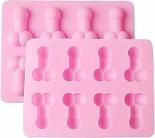 YANWA - Stampo divertente per cubetti di ghiaccio,