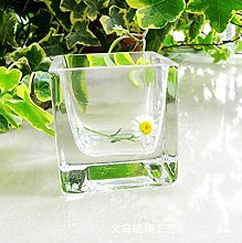 YAOHEHUA Vasi da Parete Ceramica Cilindro Quadrato