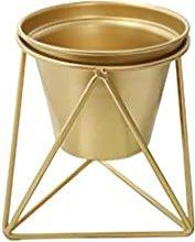 YAOHEHUA Vasi da Parete Ceramica Vaso in Ferro