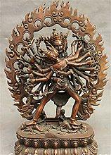 YAOLUU Design Creativo 12 Pollici Statua di Buddha