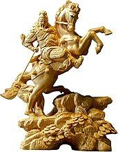 YAOLUU Design Creativo Guan Yu Scultura Figura