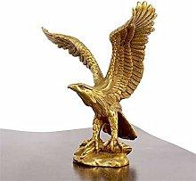 YAOLUU Design Creativo Statua di Bronzo Creativo