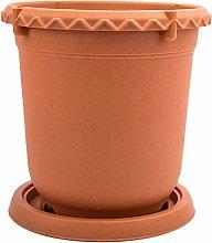 Yardwe 1 Set Vaso di Fiori in Plastica Vaso per