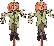Yardwe - 2 decorazioni per Halloween, per