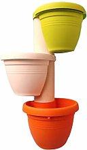 Yardwe 3 Pezzi in Vaso da Giardino da Giardino per