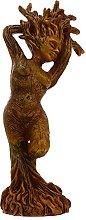 Yardwe Albero di Dio Statua Giardino Figurine
