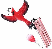 Yardwe Carillon Eolico Uccelli Uccelli di Ferro