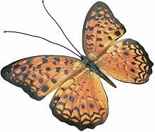 Yardwe Farfalla in Ferro Battuto Decorazione da