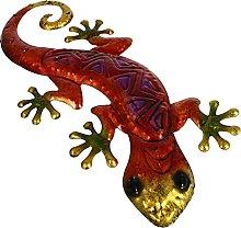 Yardwe Gecko del Metallo della Decorazione della