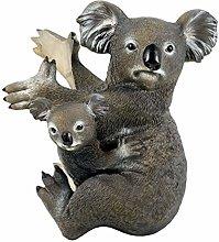Yardwe Giardino Albero Statua Koala su Un Albero