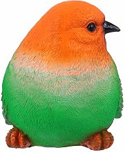 Yardwe Giardino Statua Uccelli Decorazione Resina
