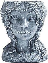Yardwe Ragazza Fioriera di Fiori Decorativi della