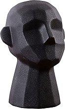 Yardwe Testa Astratto Statua in Ceramica Testa