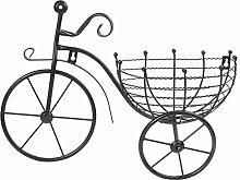 Yardwe - Vaso da fiori per bicicletta, in ferro,