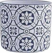 Yardwe Vaso di Fiori in Cemento Fioriera in Stile