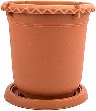 Yardwe - Vaso per fiori in plastica spessa in