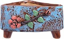 Yardwe - Vaso per piante grasse, in ceramica, per