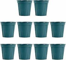 Yarnow 10 Pezzi Vaso da Fiori in Plastica da