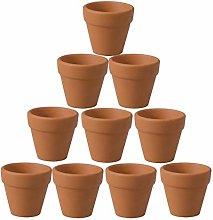 YARNOW 10 Pezzi Vaso di Terracotta Fioriera in
