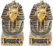 YARNOW 2Pcs Egiziano SM. King Tut da Collezione