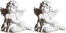 YARNOW 2Pcs In Miniatura Angelo Figurine