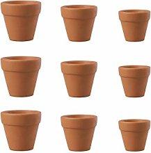 YARNOW 30Pcs di Terracotta Vasi di Terracotta Mini