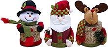 YARNOW 3Pcs Vigilia di Natale di Apple Scatola