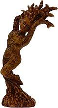 YARNOW Albero di Dio Statua da Giardino in Resina