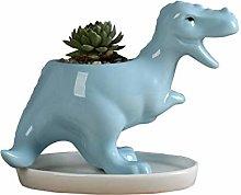 Yarnow Ceramica Succulenta Cactus Vaso di Fiori