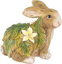YARNOW Coniglio Figurine della Resina Bunny Figura