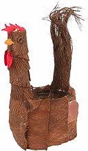 YARNOW Fioriera di Pollo Creativo Animale Vaso di