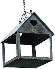 YARNOW Mangiatoia per Uccelli Vintage House Statua