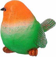 YARNOW Ornamenti per Sculture di Uccelli Verdi E