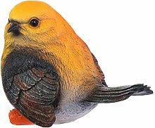 YARNOW Ornamenti Sculture di Uccelli Gialli E