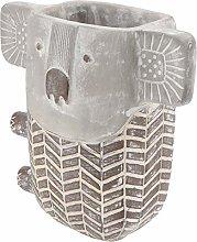 YARNOW Piantatrice di Cemento Koala Vaso di Fiori