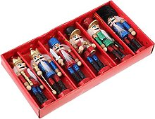 YARNOW Schiaccianoci di Natale Figurine Ornamenti:
