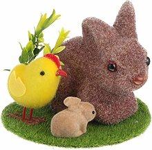 YARNOW Statua del Coniglio di Pasqua Bunny