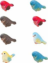 Yarnow - Statua in miniatura di uccelli mini