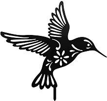 YARNOW Uccello Nero Sagome Hummingbird Scultura: