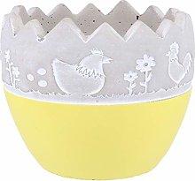 YARNOW Uovo di Pasqua Succulente Planter Pot