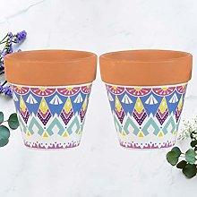 YARNOW Vasi di Terracotta da 4 Pollici Confezione