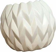 YARNOW Vaso da Fiori in Ceramica Semplice Mini