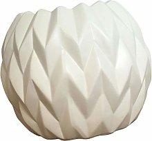 YARNOW Vaso di Fiori in Ceramica Semplice Mini
