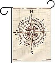YATELI Bandiera da Giardino 28 x 40 Pollici