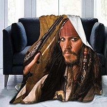 Yaxinduobao Coperta Super Morbida Johnny Depp,