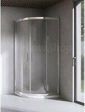 Yellowshop - Box doccia curvo cm 90x90x195