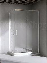Yellowshop - Box doccia rettangolare cm 80x100x195