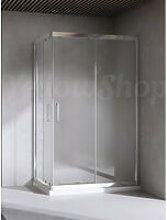 Yellowshop - Box doccia rettangolare cm 80x120x195