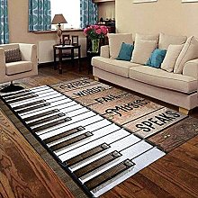 YHML Piano Speaks - Tappeto medio/1,2 x 1,8 m